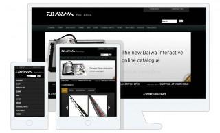 Daiwa Sports Responsive Website