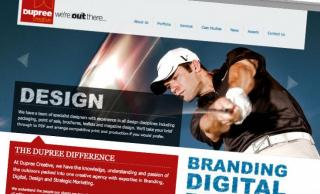 Dupree Creative Website 2011