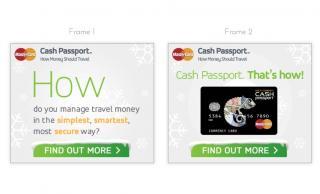 MasterCard Cash Passport Web Banners