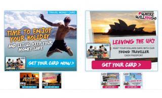 MasterCard Young Traveller Cash Passport Web Banners