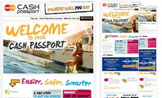 MasterCard Young Traveller Cash Passport Welcome Email